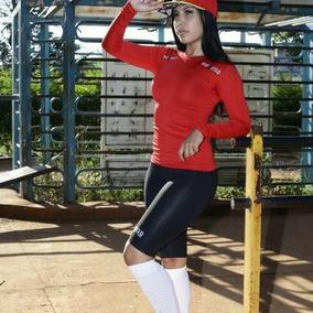 Camisa Térmica Segunda Pele Fitness Feminino Proteção Uv
