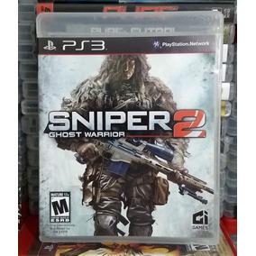 Jogo Sniper 2: Ghost Warrior - Mídia Física / Ps3 Semi-novo