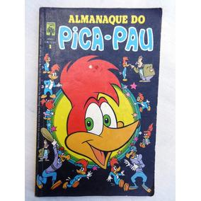 Almanaque Do Pica-pau Nº 1 - Andi Panda - Ed. Abril - 1979