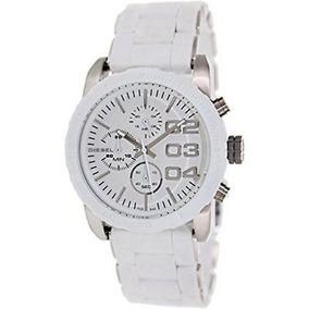708bf6f5b882 Reloj Diesel Unisex Blanco Modelo Trojan Dz1321 Hombres - Relojes ...