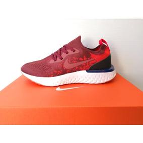 Tenis Nike Epic React Flyknit Red Mujer Envio Gratis