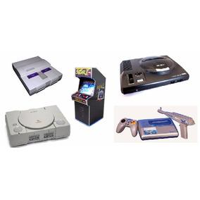 Kit 5 Emuladores Nostalgia Para Computador / Snes,arcade,etc