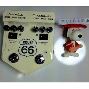 Visual Sound Route 66 Pedal Guiarra Compresor Overdrive