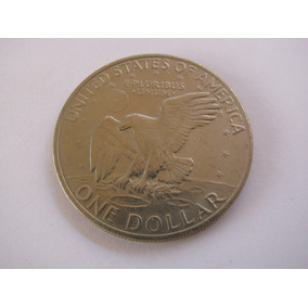 Moeda Estados Unidos (37mm) - One Dollar - 1 Dolar