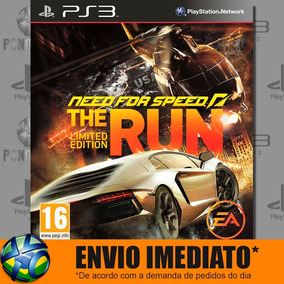 Ps3 Need For Speed The Run Mídia Digital Psn Envio Imediato