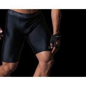 2afd684df4fea Bermuda Shorts De Compressão Lycra Masculino Esportes Atleta