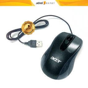 Mouse Optico Usb Acer 1200dpi Grande Negro