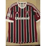 Camisa Fluminense Tricolor N9 Fred De Jogo Libertadores 2013 3030e00d6b5c0