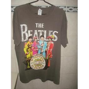 Camiseta C  Estampa Beatles - Marca Gidan - Tam. G - ef615cf96e403