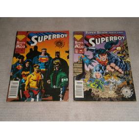 Superboy - Super Seven Em 2 Partes - Serie Tunel Do Tempo