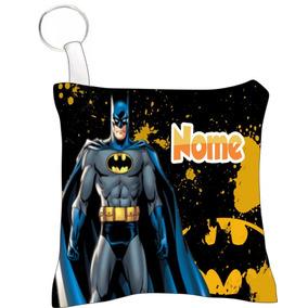 40 Almofada Chaveiro Personalizado Aniversário Batman M1