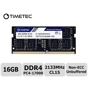 Memoria Ram Laptop Timetec Hynix 16gb Ddr4 2133mhz M. In Usa