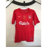 Camisa Gerrard Camisas Liverpool no Mercado Livre Brasil e07d773101b6e