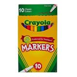 Crayola Makers 10 Canetinha Hidrocor Ponta Fina