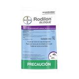 Rodilon Bloque 1kg - Rodenticida 2x1 Bayer
