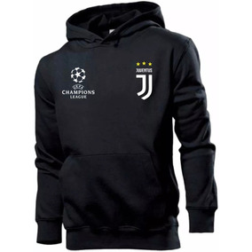 4e886b093ae Blusa Moleton Canguru Juventus Futebol Champions Customizada