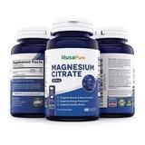 Citrato De Magnesio 833mg / Huesos Articulaciones Stock