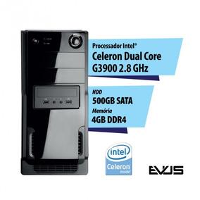 Microcomputador Desktop Evus Modelo Elementar G504 Setima Ge