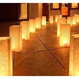 25 Bolsas De Luz, Camino Iluminado + Vela + Envio Gratis