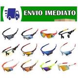 Kit 5 Óculos Esportivo Pedal Bike Ciclismo Corrida Pesca Uv