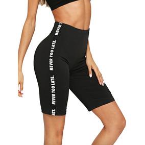 Mini Short De Licra Para Mujer Dama Dry-fit