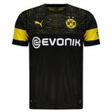 Borussia Dortmund - Uniforme 2 - 2018   2019 - Frete Grátis 0fa55e45cfee3