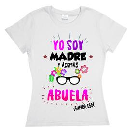 Playera Dia Del Abuelo, Regalo, Dia De Las Madres, Mama,