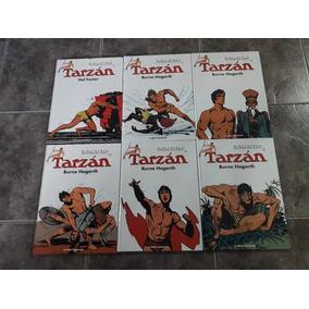 Lote De 6 Tarzan Burne Hogarth Planeta Deagostini Tapa Dura