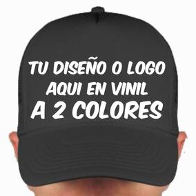 Gorra Personalizada Con Vinil A 2 Colores