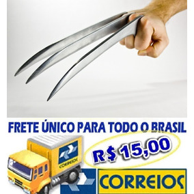 Garras Do Wolverine/ Plástico Flexível Adulto