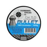 25 Cx Chumbinho Bullet 5.5 Melhor Q Snyper -total 3.125 Und.