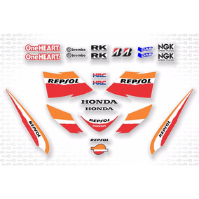 Kit Adesivo Honda Pcx 150 Repsol 2015 Pcx1511