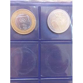 Vendo 2 Moedas Uma Bandeira Da Olimpiada E Outra 2 Euro