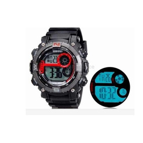 Relogio Shors 805 Esportes Unisex Led Digital Preto