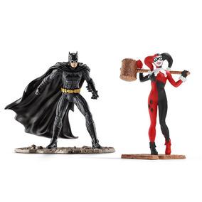 Estatueta Batman Vs Arlequina Dc Comics