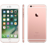 Usado - iPhone 6s Plus 64gb Rose + Película De Vidro E Capa