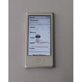 Ipod Nano 7 Prata 16gb 7 Usado ( Dead Pixel ) - Leia - 3f0gt