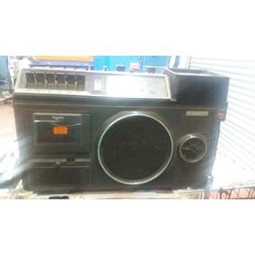Radio Gravador Antigo Com Tv Am Fm Toca Fitas No Estado Raro