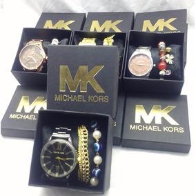 43858d11d08 Caixa Relogio Mk Atacado - Relógios no Mercado Livre Brasil
