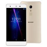 Sharp Z2 4g Smartphone 5.5 Pulgadas 4gb Ram 32gb Rom Oro Pz0