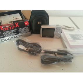 Camara Fotografica Digital Pentax Optio M20 7.0 Y Accesorio