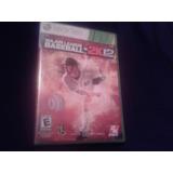 Juego Fisico Xbox 360 Mlb 2k12