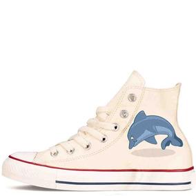 Zapatos Personalizados Delfin Hermosos Envio Gratis 007