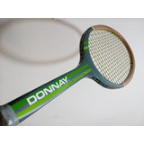 Raquete De Madeira Donnay Continental Two