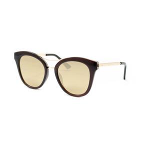 cb0a9e8309261 Atitude At 5341 Óculos De Sol T01 Marrom E Dourado Brilho - Óculos ...