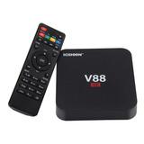 Conversor Smart Tv Box Android Mini Pc 1gb Netflix + Control