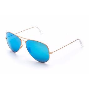 Oculos Rayban Aviador Espelhado Cor Agua - Óculos De Sol Ray-Ban no ... d8a234dab3