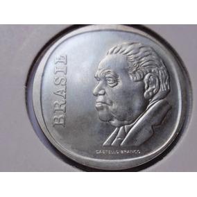 Magnifica Moeda De Prata De Cr$ 10,00 Castelinho 1975 Usada