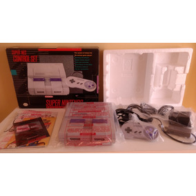 Super Nintendo Americano Comcheiro De Novo R.a.r.o!!!!