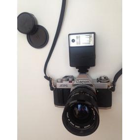 Camara Canon Av 1, Con Accesorios Operativa O Coleccion.